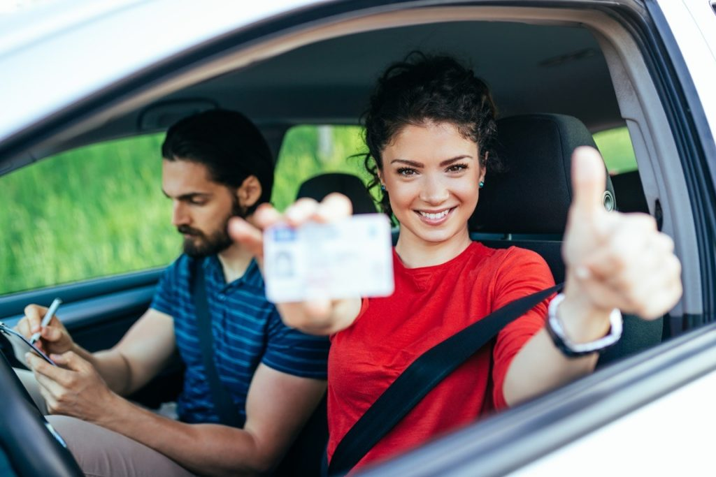 Can you test drive a car with a permit