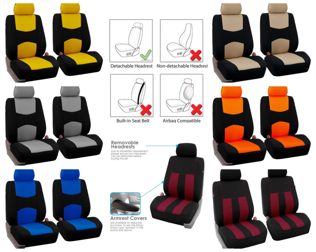 Best budget FH Group Universal Fit Bucket Seat Cover