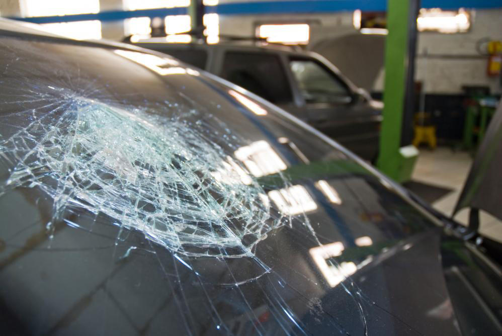 How to stop a windshield crack from spreading car care
