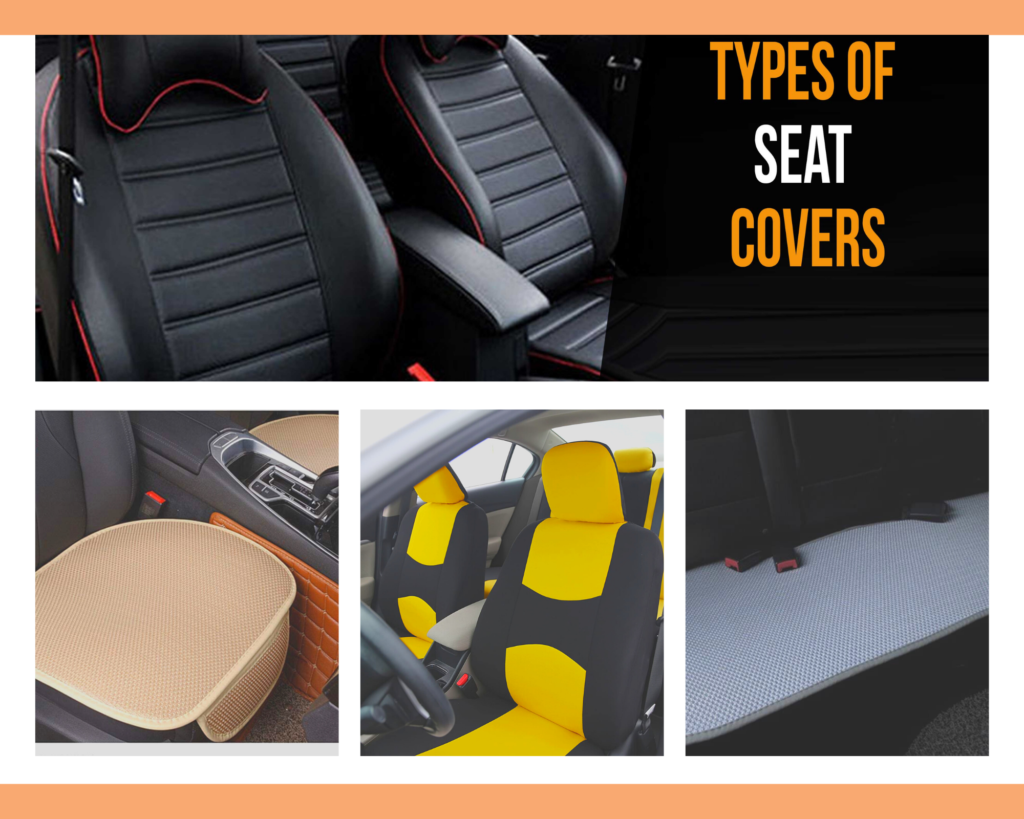 Types of seat covers